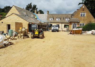 Two storey extension to a domestic property, Oxfordshire