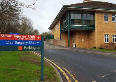 Alterations to hospital, Dorset
