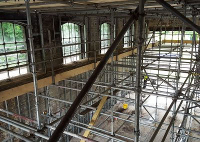 Conversion of a former goods shed to a Performing Arts Centre, Gloucestershire.