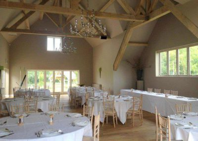 New hotel function room, Gloucestershire