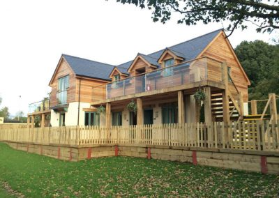 New hotel accommodation block, Wiltshire